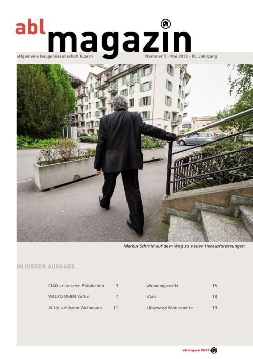 magazin Mai 2012