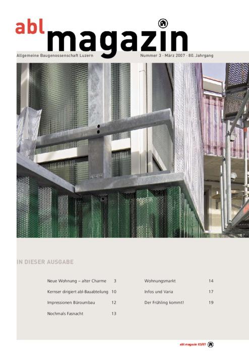 magazin März 2007