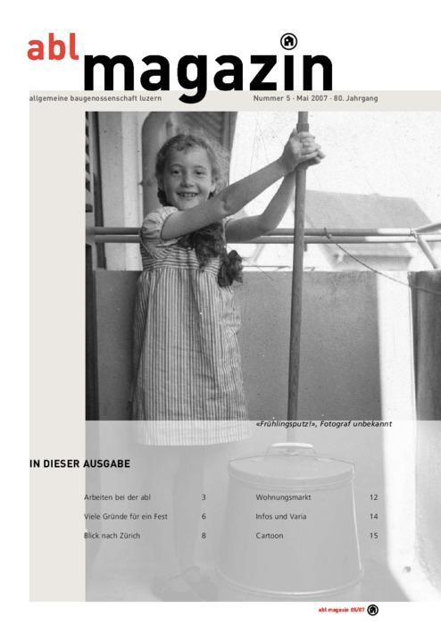 magazin Mai 2007