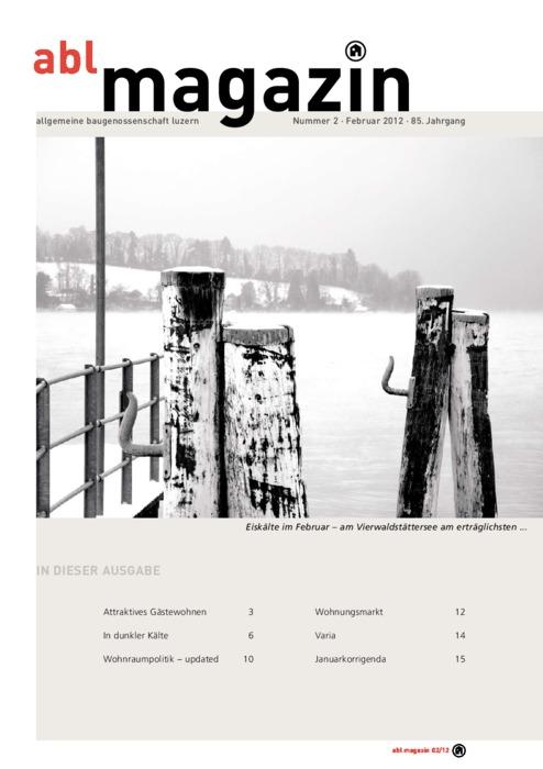 magazin Februar 2012