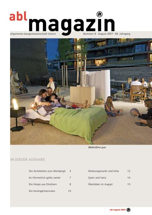 magazin August 2007