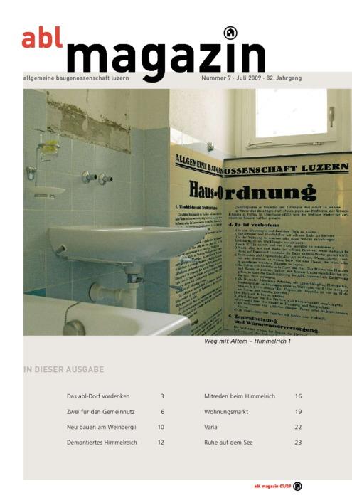 magazin Juli 2009
