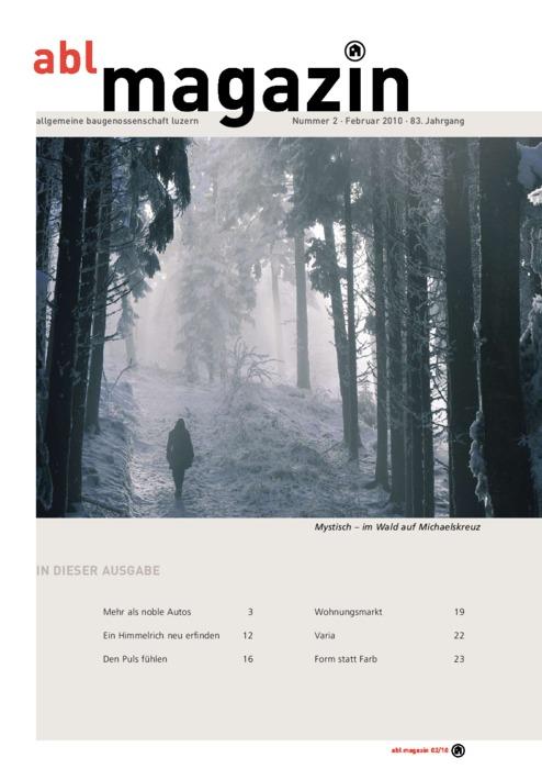 magazin Februar 2010