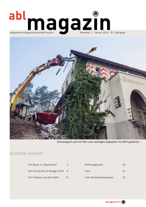 magazin Januar 2014