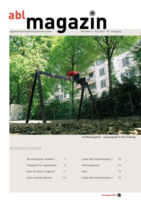 magazin Mai 2010