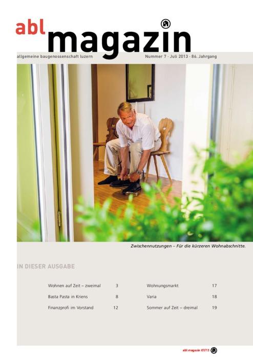 magazin Juli 2013