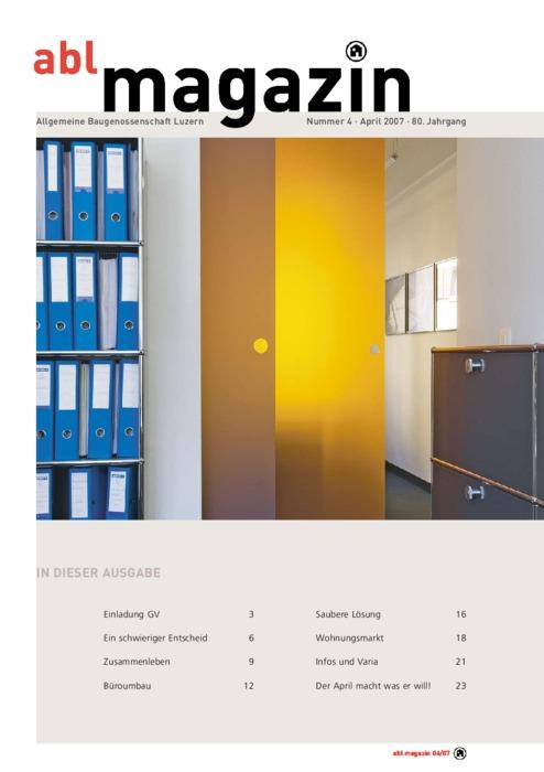 magazinApril  2007