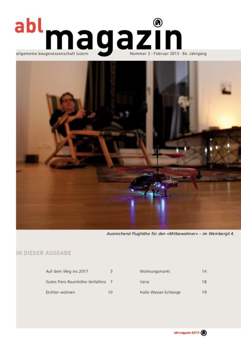 magazin Februar 2013