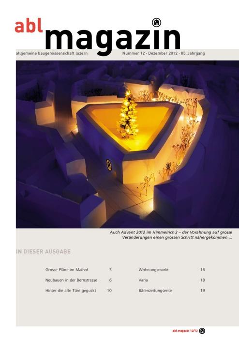 magazin Dezember 2012