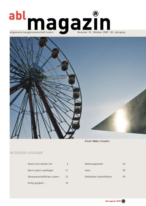 magazin Oktober 2009