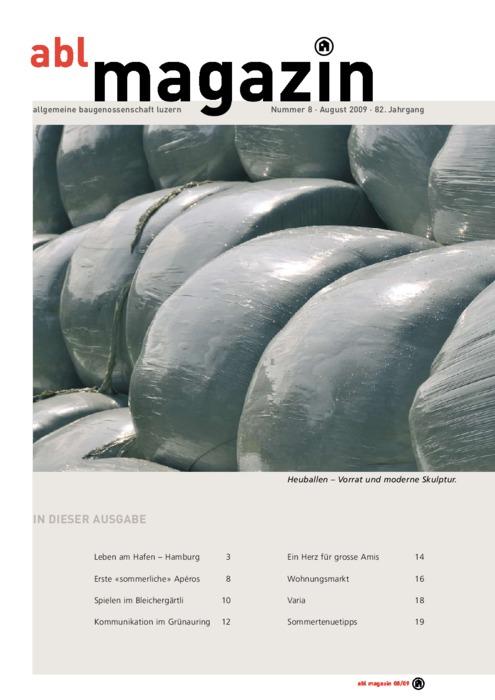 magazin August 2009