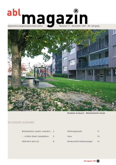 magazin November 2007